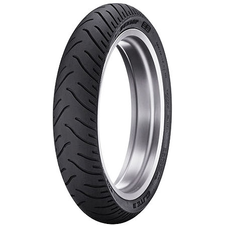 Dunlop Elite 3 Bias Touring Front Tire - 90/90-21 - Main