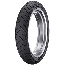 Dunlop Elite 3 Bias Touring Front Tire - 90/90-21 - Metzeler ME880 XXL Rear Tire - 200/50R18 76W