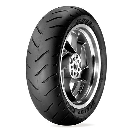 Dunlop Elite 3 Radial Touring Rear Tire - 180/60R16 - Main