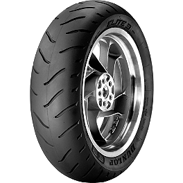 Dunlop Elite 3 Touring Rear Tire - 160/80-16B - Dunlop Elite 3 Bias Touring Rear Tire - MU90-16B