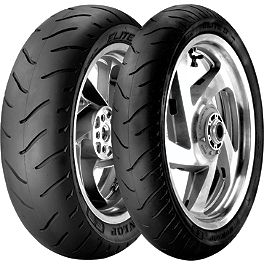 Dunlop Elite 3 Tire Combo - Dunlop Elite 3 Bias Touring Front Tire - Mr90-18
