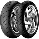 Dunlop Elite 3 Tire Combo - Dunlop Motorcycle Tires and Wheels