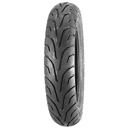 Dunlop GT501 Rear Tire - 120/90-18V - Dunlop 491 Elite II Raised White Letter Front Tire - MT90B16