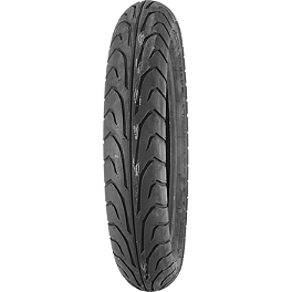 Dunlop GT501 Front Tire - 110/70-17HB - Dunlop K555 Rear Tire - 170/80-15 Wide Whitewall