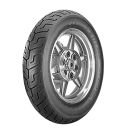 Dunlop K177 Rear Tire - 160/80-16B - Dunlop Elite 3 Bias Touring Front Tire - 90/90-21