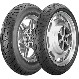 Dunlop K177 Tire Combo - Dunlop Elite 3 Bias Touring Rear Tire - MT90-16B
