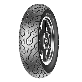 Dunlop K555 Rear Tire - 150/80-15 - Dunlop Harley Davidson D402 Narrow White Stripe Rear Tire - MU85-16B
