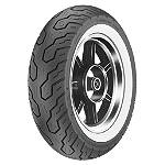 Dunlop K555 Rear Tire - 170/80-15 Wide Whitewall - Dunlop 170 / 80-15 Cruiser Tires and Wheels