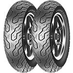 Dunlop K555 Tire Combo - Dunlop Motorcycle Tires and Wheels