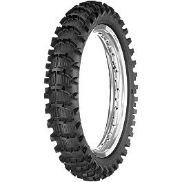Dunlop Geomax MX11 Rear Tire 110/90-19 - 2009 Husqvarna TC450 Dunlop D803 Front Trials Tire - 2.75-21