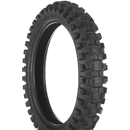 Dunlop Geomax MX31 Rear Tire - 110/90-18 - 1975 Yamaha YZ250 Dunlop D803 Front Trials Tire - 2.75-21