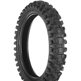 Dunlop Geomax MX31 Rear Tire - 120/80-19 - 1990 Suzuki RM250 Dunlop D803 Front Trials Tire - 2.75-21