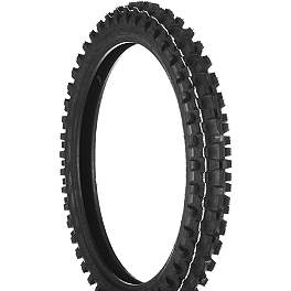 Dunlop Geomax MX31 Front Tire - 80/100-21 - 1997 Honda CR250 Dunlop Geomax MX71 Rear Tire - 120/80-19