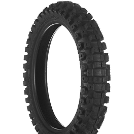 Dunlop Geomax MX51 Rear Tire - 90/100-16 - DNA Specialty Front Wheel 1.40x19 - Green/Black