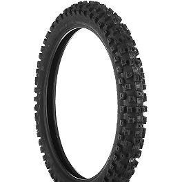 Dunlop Geomax MX51 Front Tire - 90/100-21 - 1989 Honda CR500 Dunlop Geomax MX31 Rear Tire - 110/90-18