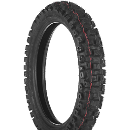 Dunlop Geomax MX71 Rear Tire - 110/90-18 - 1976 Yamaha YZ250 Dunlop D803 Front Trials Tire - 2.75-21