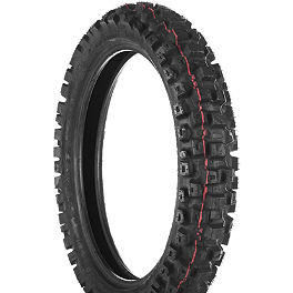 Dunlop Geomax MX71 Rear Tire - 110/90-19 - 1984 Kawasaki KX500 Dunlop D803 Front Trials Tire - 2.75-21