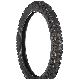 Dunlop Geomax MX71 Front Tire - 80/100-21 - 1999 Kawasaki KDX220 Dunlop D803 Rear Trials Tire - 4.00-18
