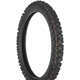 Dunlop Geomax MX71 Front Tire - 90/100-21 - 1996 Suzuki DR200SE Dunlop D803 Rear Trials Tire - 4.00-18