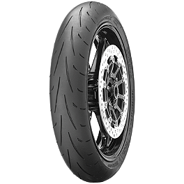Dunlop Sportmax Q2 Front Tire - 120/70ZR17 - Dunlop Roadsmart Rear Tire - 190/50ZR17