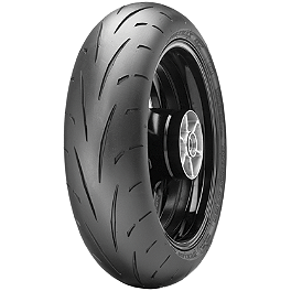 Dunlop Sportmax Q2 Rear Tire - 190/50ZR17 - Dunlop Roadsmart 2 Rear Tire - 160/60ZR18