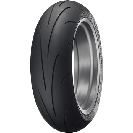Dunlop Sportmax Q3 Rear Tire - 190/50ZR17 - Main