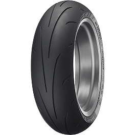 Dunlop Sportmax Q3 Rear Tire - 240/40ZR18 - Continental Race Attack Custom Radial Rear Tire - 240/40ZR18