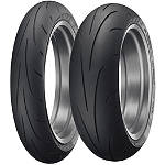 Dunlop Sportmax Q3 Tire Combo - Motorcycle Tire and Wheels