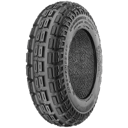 Dunlop Quadmax Sport Radial Front Tire - 19x6-10 - 2000 Polaris TRAIL BOSS 325 Dunlop Quadmax Sport Radial Rear Tire - 18x10-8