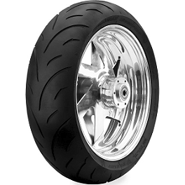 Dunlop Sportmax Qualifier Rear Tire - 190/50ZR17 - Dunlop Trailmax TR91 Front Tire - 110/90-19