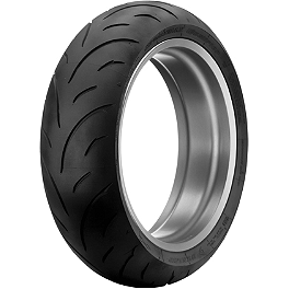 Dunlop Sportmax Qualifier Rear Tire - 190/55ZR17 - Dunlop Roadsmart Front Tire - 120/70ZR18