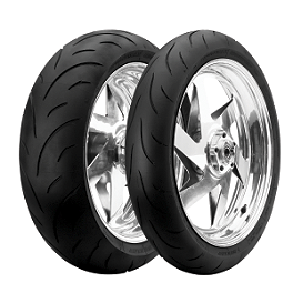 Dunlop Sportmax Qualifier Tire Combo - Dunlop Roadsmart 2 Rear Tire - 180/55ZR17