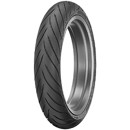 Dunlop Roadsmart 2 Front Tire - 120/60ZR17 - Jardine RT-5 Dual Slip-On Carbon Fiber Exhaust