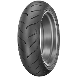 Dunlop Roadsmart 2 Rear Tire - 180/55ZR17 - Dunlop Trailmax TR91 Front Tire - 110/90-19