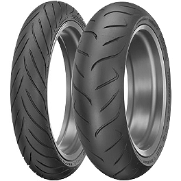 Dunlop Roadsmart 2 Tire Combo - Dunlop Trailmax TR91 Rear Tire - 130/80-17