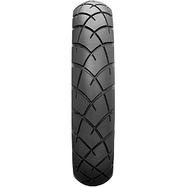 Dunlop Trailmax TR91 Rear Tire - 140/80-17 - Shinko SR740 Front Tire - 110/80-17