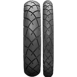 Dunlop Trailmax TR91 Tire Combo - Dunlop Roadsmart 2 Rear Tire - 180/55ZR17