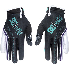 Deft Family Catalyst 3 DC Collaboration Gloves - Deft Family Artisan 2 Lifestyle Gloves