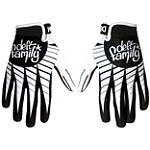 Deft Family Catalyst 3 Point Gloves - Deft Family Utility ATV Riding Gear