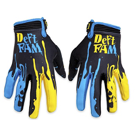 Deft Family Catalyst Dipped Gloves - Deft Family Catalyst 3 Bolt Gloves