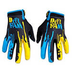 Deft Family Catalyst Dipped Gloves - Deft Family Dirt Bike Gloves
