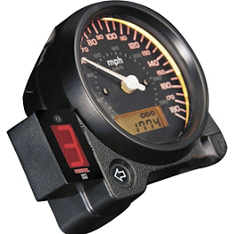 Datatool Digital Gear Indicator - Koso LCD Temperature Gauge