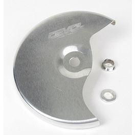 DeVol Front Disc Guard - 2007 Suzuki RMZ250 Acerbis Spider Evolution Disc Cover Mounting Kit
