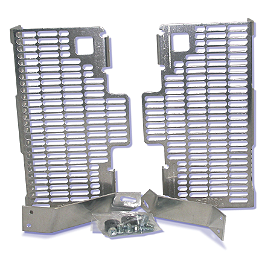 DeVol Radiator Guards - 2011 Honda CRF450R Works Connection Radiator Braces