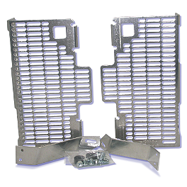 DeVol Radiator Guards - 2008 KTM 250XCFW DeVol Radiator Guards