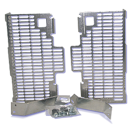 DeVol Radiator Guards - 2009 Kawasaki KX450F DeVol Radiator Guards