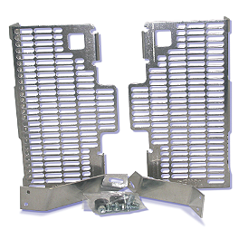 DeVol Radiator Guards - 2008 Suzuki RMZ450 Works Connection Radiator Braces