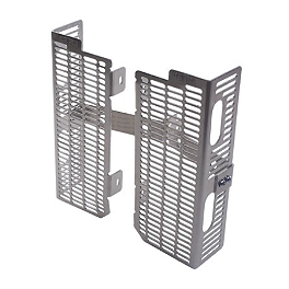 DeVol Radiator Guards - 2008 Yamaha YZ85 DeVol Radiator Guards