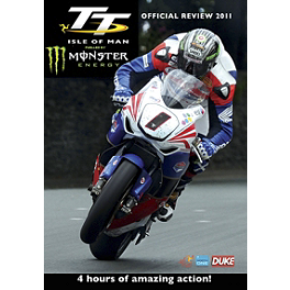 TT Isle Of Man 2011 Bluray & DVD - Carbon Fiber Works Carbon Fiber Chain Guard