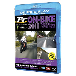TT Isle Of Man On-Bike 2011: The Blu-ray Experience - Carbon Fiber Works Carbon Fiber Chain Guard